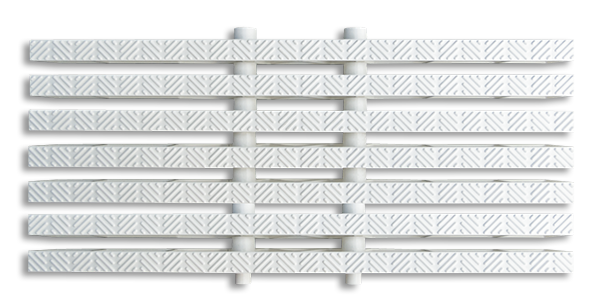 12 to 16 inch Perpendicular grating